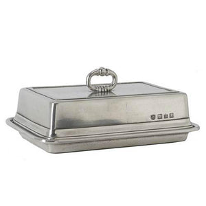 Match Pewter Double Butter Dish - Benton and Buckley