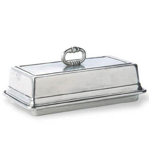 Match Pewter Covered Butter Dish - Benton and Buckley