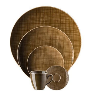 Rosenthal Classic Mesh Walnut 5 Piece Place Setting (5 pps) - Benton and Buckley