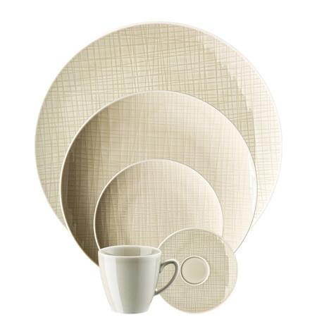 Rosenthal Classic Mesh Cream  5 Piece Place Setting (5 pps) - Benton and Buckley
