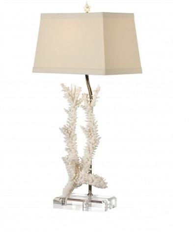 Captiva Table Lamp in Foam White - Benton and Buckley
