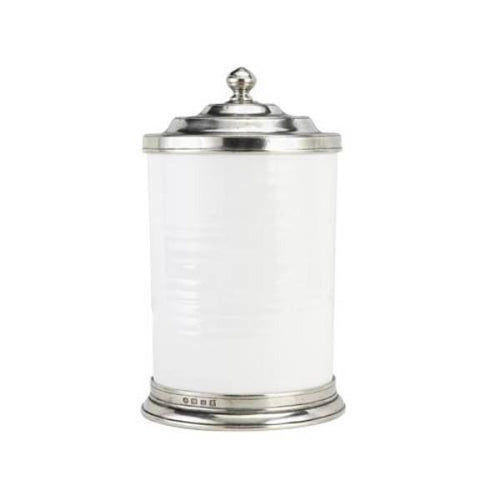 Match Pewter Convivio Ceramic Canisters - Benton and Buckley