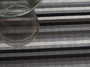 Even Stripe Indoor/Outdoor Mat | Mineral - Benton and Buckley