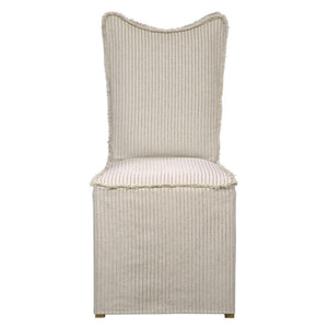 Lenore Armless Chair S/2 | Oatmeal