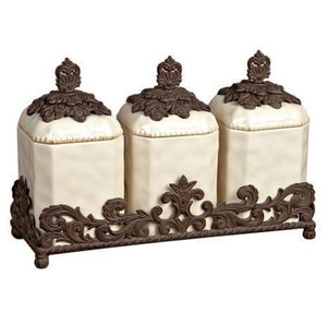 GG Collection 19.5  Inch Triple Canister Set - Benton and Buckley