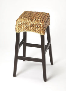 The Republic Rattan Barstool - Benton and Buckley