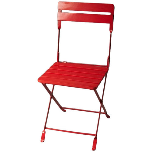 Bailey Red Folding Chair