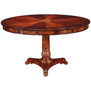 "Buckingham 54"" William IV Mahogany Centre Table - Benton and Buckley"
