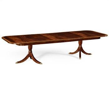 Regency Two Leaf Mahogany Extending Dining Table - Benton and Buckley