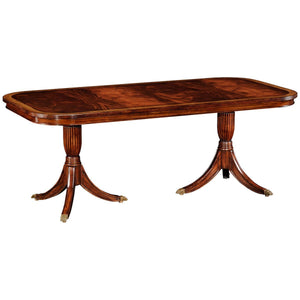 Regency Fixed Top Mahogany Dining Table - Benton and Buckley