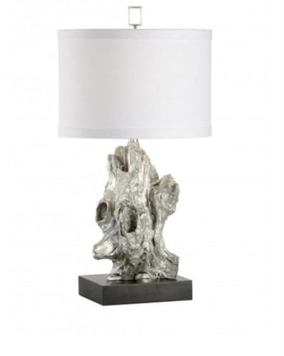 Bayou Table Lamp in Silver - Benton and Buckley
