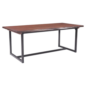 Papillion Dining Table Distressed Cherry Oak - Benton and Buckley