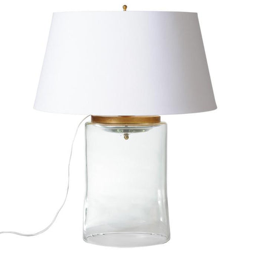 BARBARA COSGROVE Cylinder Glass Table Lamp - GDH | The decorators department Store