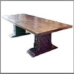 Antique Cal-Mex Style Dining Table - Benton and Buckley