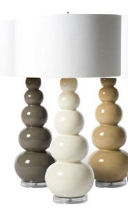BARBARA COSGROVE Clay Gourd Table Lamps   GDH | The Decorators Department  Store