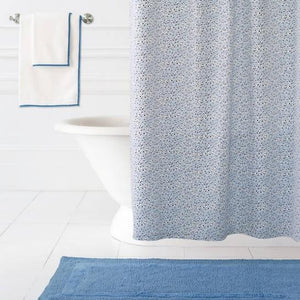 Confetti Blue Shower Curtain - Benton and Buckley