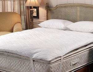 Deluxe 10/90 Quilted Pillow Top Feather Bed - GDH | The decorators department Store