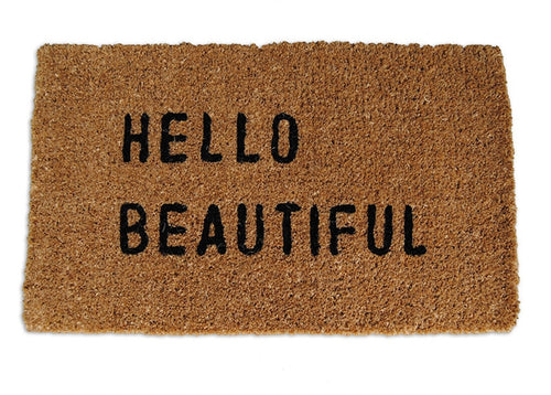 Hello Beautiful Doormat - CITY LIFE CATALOG - 1