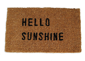 Hello Sunshine Doormat - CITY LIFE CATALOG