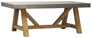 Ashburn Cement Top Dining Table - Benton and Buckley