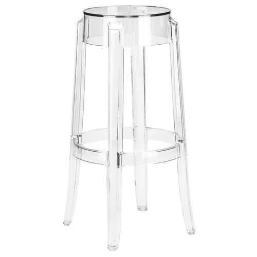 Ghost Counter Stool | Clear - Benton and Buckley