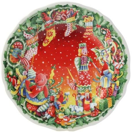 GIEN Christmas Dessert Plate 2015 - GDH | The decorators department Store