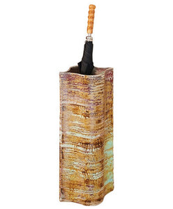 Extruded Rust Umbrella Stand - CITY LIFE CATALOG