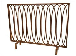 Antique Gold Loop Firescreen - GDH | The decorators department Store