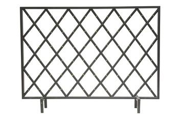 Black Iron Bamboo Firescreen - GDH | The decorators department Store