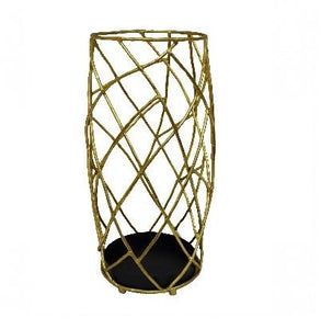 Gold Twig Umbrella Stand - GDH | The decorators department Store