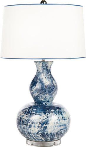 Blue Monterey Table Lamp - Benton and Buckley