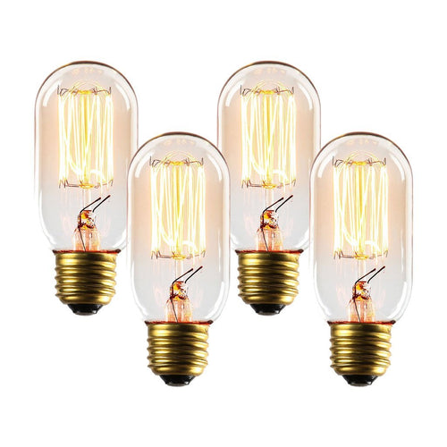 Set Of 4 - Placer T14 Vintage Edison Bulbs 40W - Benton and Buckley