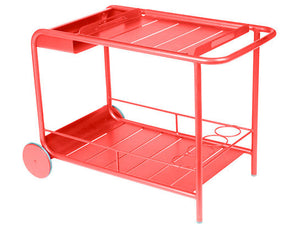 Capucine Luxembourg Wheeled Bar Cart - CITY LIFE CATALOG