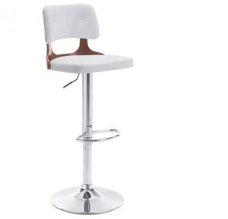 Lynx Bar Chair White S/2 - Benton and Buckley