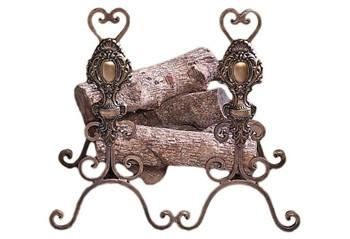 Tuscany Andirons - GDH | The decorators department Store