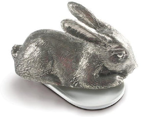 Rabbit Pewter Butter Dish - Benton and Buckley