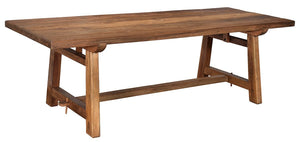 "Solano Dining Table - 96"" - Benton and Buckley"