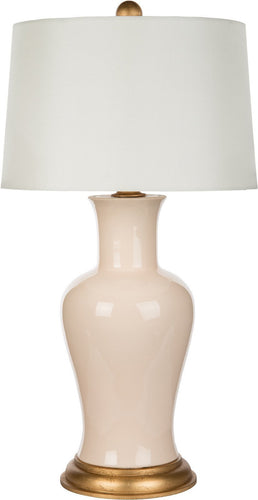 Amelie Pink Couture Table Lamp - Benton and Buckley