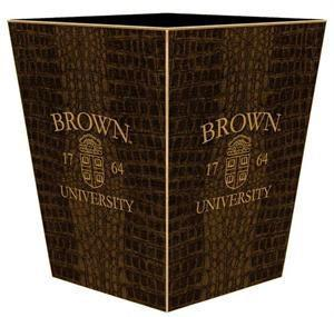 Brown University Wastepaper Basket - Benton and Buckley