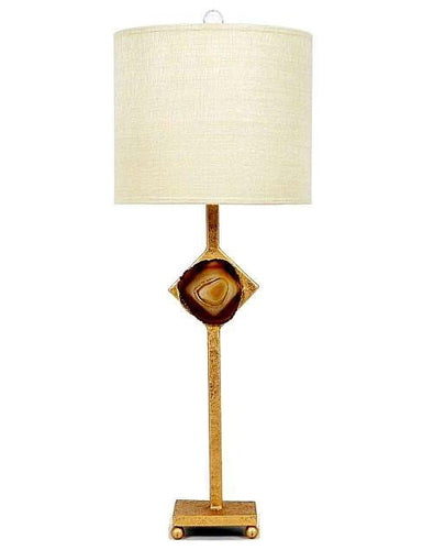 Agate Stone Lamp - Benton and Buckley