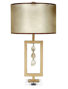 Agate Natural Table Lamp - Benton and Buckley