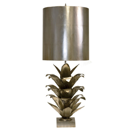 Arianna Table Lamp in Silver - Benton and Buckley