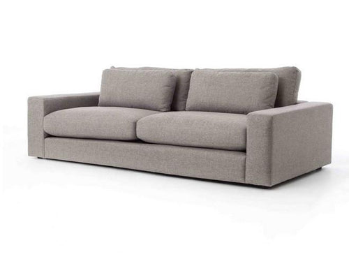 Bloor 98 Inch Sofa | Chess Pewter - Benton and Buckley