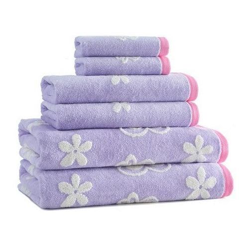 Butterfly Bath Towel S/6 - Benton and Buckley