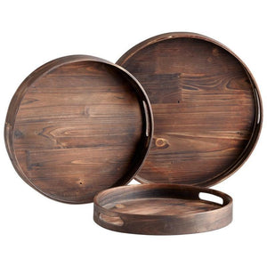 Round Dupre Trays-Set of 3 - Benton and Buckley