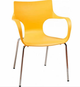 Phin Chair S/2 | Yellow