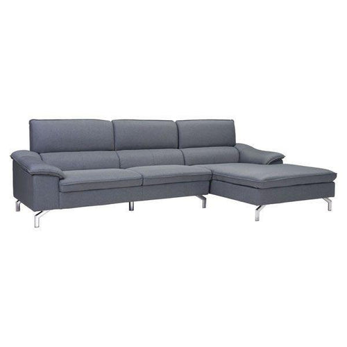 Ephemral Sectional | Right Hand Front | Grey
