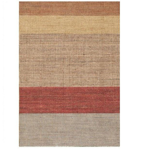 Tweed Stripe Wool Woven Rug - GDH | The decorators department Store
