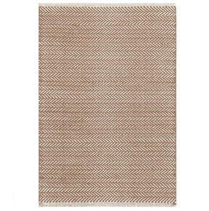 Herringbone Stone Woven Cotton Rug - GDH | The decorators department Store