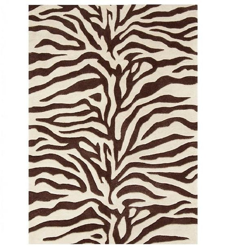 Zebra Tufted Wool Rug - GDH | The decorators department Store
